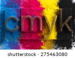Cmyk Made From Old Letterpress...