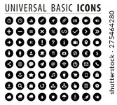 quality universal icons for web ... | Shutterstock .eps vector #275464280