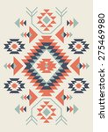 ethnic pattern design. vector... | Shutterstock .eps vector #275469980