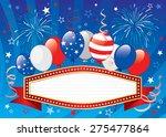 vector illustration of fourth... | Shutterstock .eps vector #275477864