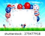 vector illustration of fourth... | Shutterstock .eps vector #275477918