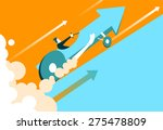 quick start of business. the... | Shutterstock .eps vector #275478809