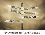 business strategy marketing... | Shutterstock . vector #275485688