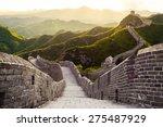 Great Wall Under Sunshine...