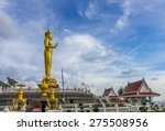 budha statue in the temple ... | Shutterstock . vector #275508956