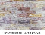 texture of the brick wall for... | Shutterstock . vector #275519726