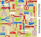 vector  colorful pattern of... | Shutterstock .eps vector #275522900
