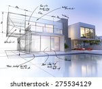 3d rendering of a luxurious... | Shutterstock . vector #275534129