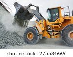 big yellow mining truck in... | Shutterstock . vector #275534669