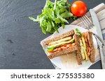 Vegetarian Sandwich With...