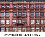 new york  ornate building facade | Shutterstock . vector #275545010