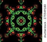seamless pattern.vintage... | Shutterstock .eps vector #275549180