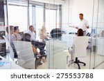 business meeting in a modern... | Shutterstock . vector #275553788