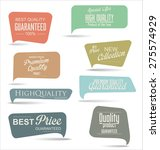 modern badges collection | Shutterstock .eps vector #275574929