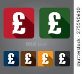 vector   square pound currency...