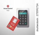 access control | Shutterstock .eps vector #275591714