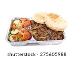 shoarma order isolated on a...