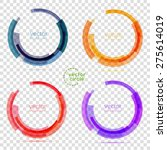 Circle Set. Vector Illustratio...