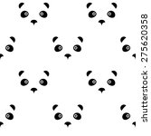 panda bear logo icon abstract... | Shutterstock .eps vector #275620358