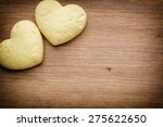 Heart Shaped Cookies. From...