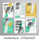 multipurpose brochure template...   Shutterstock .eps vector #275623319