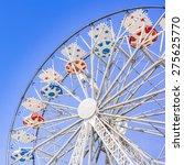 Ferris Wheel At The County Fair ...