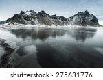 Vestrahorn  Hofn  Mountain ...