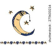posters  posters with the moon...   Shutterstock .eps vector #275633216