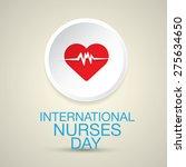 international nurse day concept ... | Shutterstock .eps vector #275634650