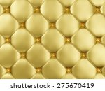 close up view of golden leather ... | Shutterstock . vector #275670419