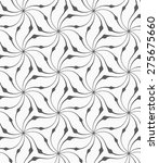 monochrome abstract geometrical ... | Shutterstock .eps vector #275675660