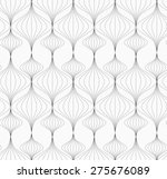 monochrome abstract geometrical ... | Shutterstock .eps vector #275676089