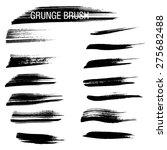 set of hand drawn grunge brush   Shutterstock .eps vector #275682488