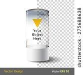 empty showcase | Shutterstock .eps vector #275688638