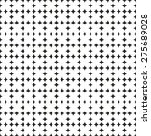 tile black and white pattern or ... | Shutterstock . vector #275689028