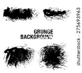 grunge elements   illustration | Shutterstock .eps vector #275693963