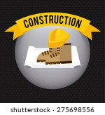 under construction design ... | Shutterstock .eps vector #275698556
