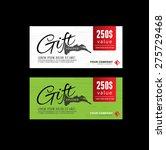 gift voucher premier color   Shutterstock .eps vector #275729468
