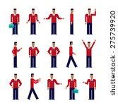 modern flat design cartoon... | Shutterstock .eps vector #275739920