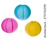 Paper Lanterns Isolated On...