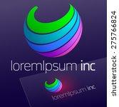 abstract vector emblem. logo... | Shutterstock .eps vector #275766824