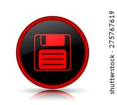 save icon. internet button on... | Shutterstock . vector #275767619