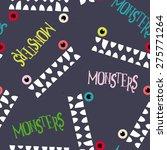decorative pattern monsters.... | Shutterstock .eps vector #275771264