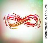 Vintage Colors Infinity Symbol...