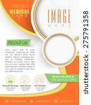 stylish medical care template ... | Shutterstock .eps vector #275791358