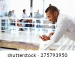 portrait of man in office with... | Shutterstock . vector #275793950