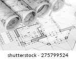 rolls of architecture... | Shutterstock . vector #275799524