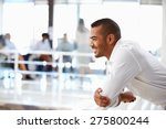 portrait of man in office  side ... | Shutterstock . vector #275800244