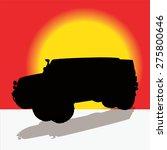 off road vehicle. vector... | Shutterstock .eps vector #275800646