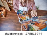 Male Artist Painting Venetian...